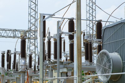 Construction of control system of 110kV Go Trau substation